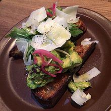 Avocado toast - Wikipedia