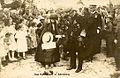 Avstrijski cesar Karel I in njegova žena Cita v Postojni 1917.jpg