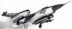 Operational Requirement F.155 - Armstrong-Whitworth AW.169 manufacturer's model