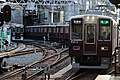Awaji Sta. Senri line crossing over Kyoto Line.jpg