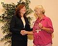 Award for Conservation Partners Jane Schnee (10592993913).jpg