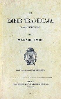 Az ember tragédiája (első kiadás) 1861.jpg
