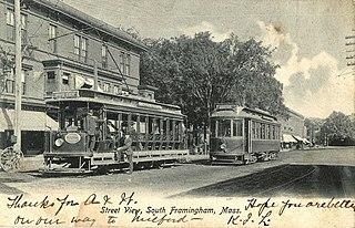 Boston and Worcester Street Railway