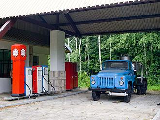 GAZ-53 - GAZ-53 tanker truck