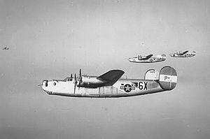 RAF Metfield - Ford B-24H-25-FO Liberator Serial 42-95219 of the 854th Bomb Squadron