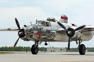 Bob Chappuis - North American B-25 Mitchell