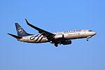 B-5159 - Xiamen Airlines - Boeing 737-85C(WL) - SkyTeam Livery - SHA (16881030089).jpg