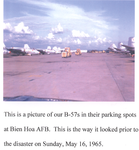 B-57s in their parking spots at Bien Hoa AFB, 1965.png