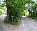 B4310 passing Pistyllt-gwyn. - geograph.org.uk - 1337624.jpg