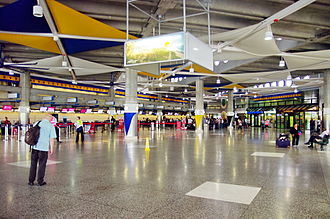 Grantley Adams International Airport - Check-in hall