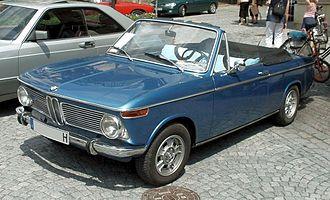 BMW 02 Series - BMW 1600 Cabriolet