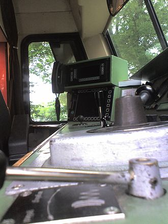 DB Class 628 - Driver's cab on a Class 628.4