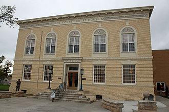 Baca County, Colorado - Image: Baca County Courthouse
