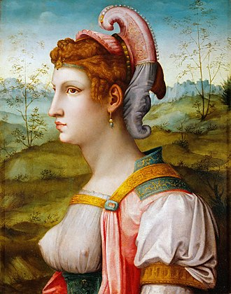 Sibyl - Sibyl by Francesco Ubertini, c. 1525