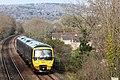 Backwell - GWR 166216 down train.JPG