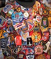 Badges of the units who worked at the WTC site.jpg