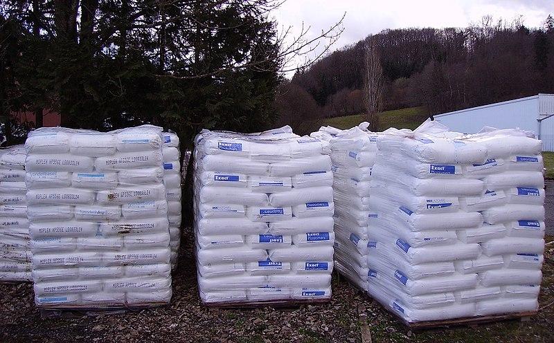 File:Bags of plastic granules.jpg