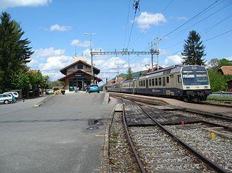 Mühlethurnen - Thurnen railroad station