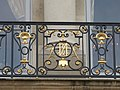 Balcon de la facade coté jardin de l'Élysée.jpg