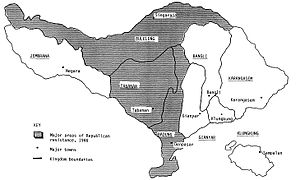 I Gusti Ngurah Rai - The political divisions among kingdoms of Bali during the Indonesian National Revolution (1945-49)