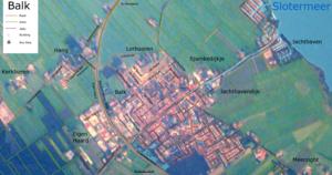Balk, Netherlands - Detailed map of Balk