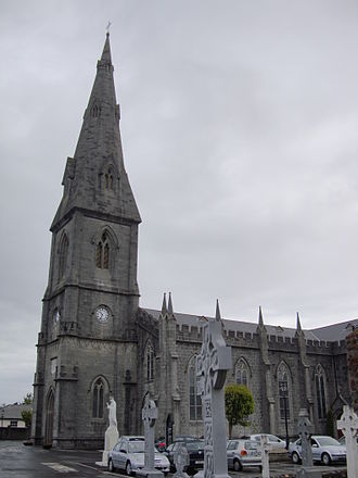 Bishop of Killala - St Muredach's Cathedral, Ballina, the episcopal seat of the Roman Catholic bishops.