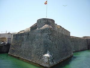 Sieges of Ceuta (1694–1727) - Image: Baluarte de la Bandera, Ceuta (2)