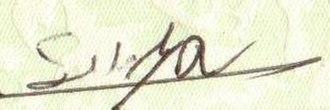 Suraj Chapagain - Image: Bandre Signature