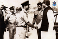 Bangabandhu Sheikh Mujibur Rahman with Bangladesh Air Force personnel (06).png