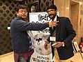 Barnstar Honored to Raavi Mohanty हिंदी विकिपीडिया सम्मलेन २०१८ 12-1-18 2.jpg