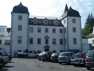 Great Polish Map of Scotland - Barony Castle Hotel in 2011