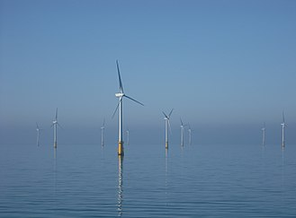 Walney Island - Barrow Offshore wind farm