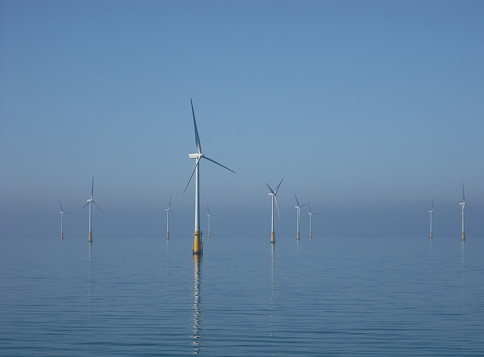 Barrow Offshore wind turbines NR