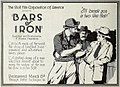 Bars of Iron (1920) - Ad 1.jpg