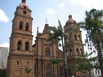 Bolivians - Basílica Menor de San Lorenzo, in Santa Cruz, Bolivia