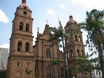 Vista de la Basílica Menor de San Lorenzo