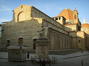 San Lorenzo, Florence - Image: Basilica di san lorenzo 33