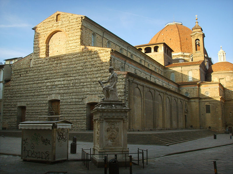 View of Basilica San Lorenzo