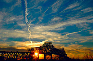 Horace Wilkinson Bridge - Sunset View