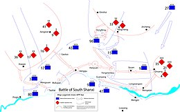 Description de l'image Battle of South Shanxi map.jpg.