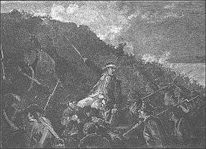 Battle of Stony Point - Capture of Stony Point by Wayne
