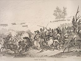 Description de l'image Battle of Vauchamps by Reville.jpg.