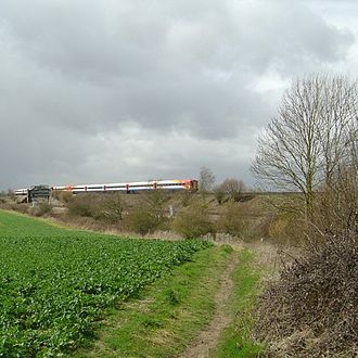 Worting Junction - Battledown Flyover, part of Worting Junction