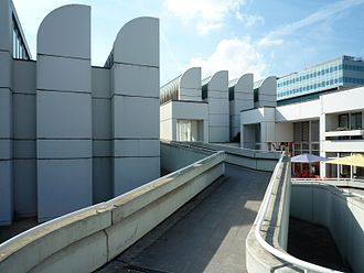 Bauhaus Archive - Bauhaus-Archiv, view from south east