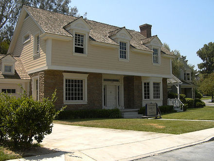 The residence of Mary Alice Young (as seen in the premiere episode of Desperate Housewives), on Wisteria Lane
