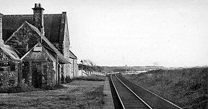 Beckermet - Beckermet railway station, 1961