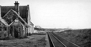 Beckermet railway station