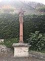 Beckstein Kleindenkmal 11 Nepomuk-Figur aus Kalkstein - Bild 02.jpg