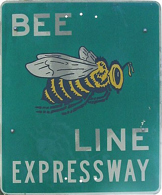 Florida State Road 528 - Old Bee Line Expressway sign
