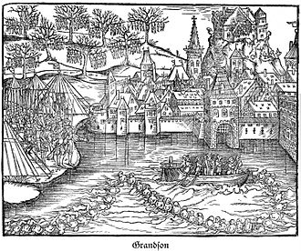 Canton of Bern - Siege and execution of the garrison at Grandson